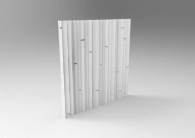 Фасадная панель «Пн10»
