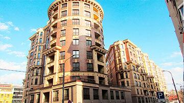 Жилые многоэтажные дома